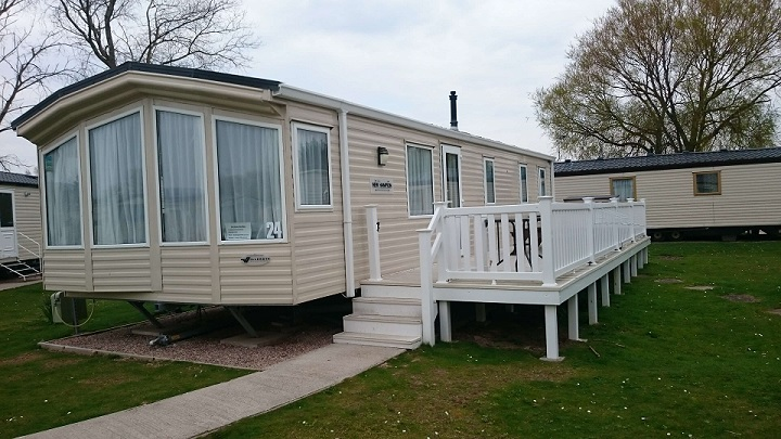 Willerby New Hampton caravan for hire